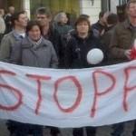 Demonstration in Nordwalde - 7. April 2011 - Gemeinsam stoppen wir Fracking