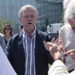 Jose Bove - Demo vor dem europäischen Parlament in Strassburg