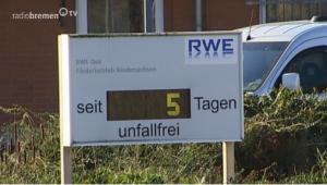 RWE DEA Völkersen - Seit 5 Tagen unfallfrei