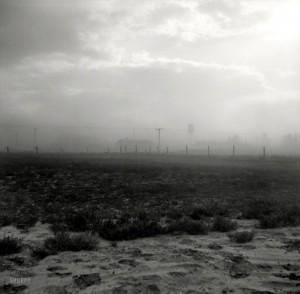 Sandsturm in Bakken, Oktober 1937 (Foto: Russell Lee)