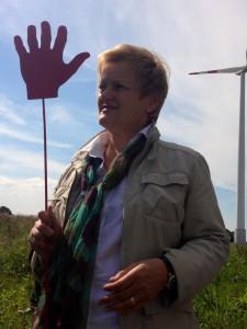 "Renate Künast in Nordwalde ""vor Ort"""