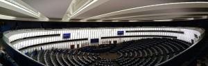 Plenarsaal des Europa-Parlaments in Straßburg (Foto: CherryX