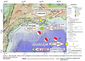 Tankerunglücke, Erdbeben, aufgerissene Pipelines und leckgeschlagene Öl-Plattformen wie Deepwater Horizon: Der Golf von Mexico wird zu einer der größten Todeszonen der Welt
