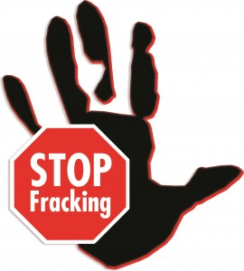 Stop Fracking-Hand