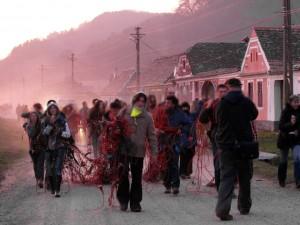 Anti-Fracking-Aktivisten haben illegal verlegte Seismik-Kabel an sich genommen