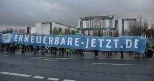 Energiewende-Demo 2013, Berlin (Foto: Carin Schomann @bohrplatz.org)