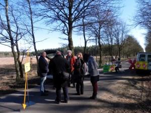 Blockade der Zufahrt zur Verpressbohrung Dethlingen H1