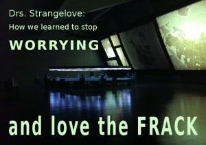 "Die Masterminds der Fracking-Kampagne im ""War Room"" *"