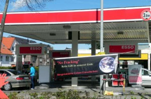 Letzten Samstag an der Esso-Tankstelle in Lüneburg: Hier sollten Sie nicht tanken!