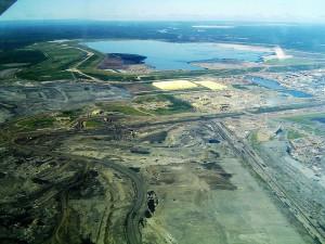 Ölsandmine am Mildred Lake, Kanada