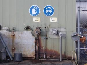Der flüssige Abraum aus der Öl- und Gasförderung wird