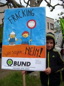 Fracking könnte den Kindern die Zukunft ver<strike>s</strike>bauen