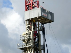 Soll bis Oktober 14 mit der Bohrung fertig werden: Drilling Rig E202