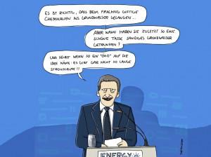 Fracking-Cartoon von Masztalerz