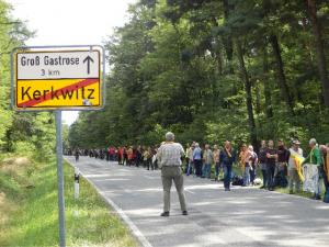 Menschenkette bei Kerkwitz, 2014