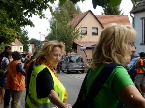 Menschenkette in Kerkwitz