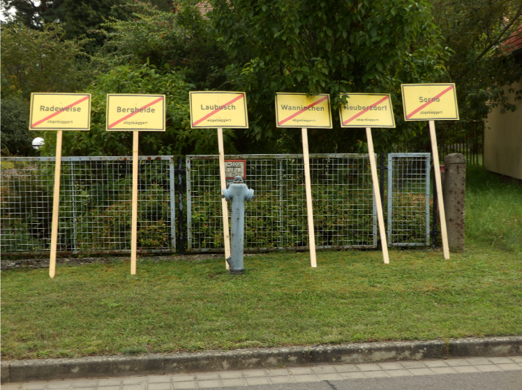 136 Dörfer in der Lausitz wurden seit 1900 abgebaggert: Die nächsten auf der Abbaggerliste von Vattenfall & Co.
