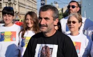 Alexandru Popescu startet den Marsch durch Europa gegen Fracking