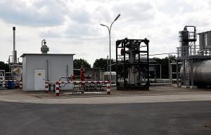 Erdgas-Fördersonde im Emsland (Apeldorn T1)