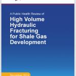 Titelseite Gesundheitsstudie Fracking USA