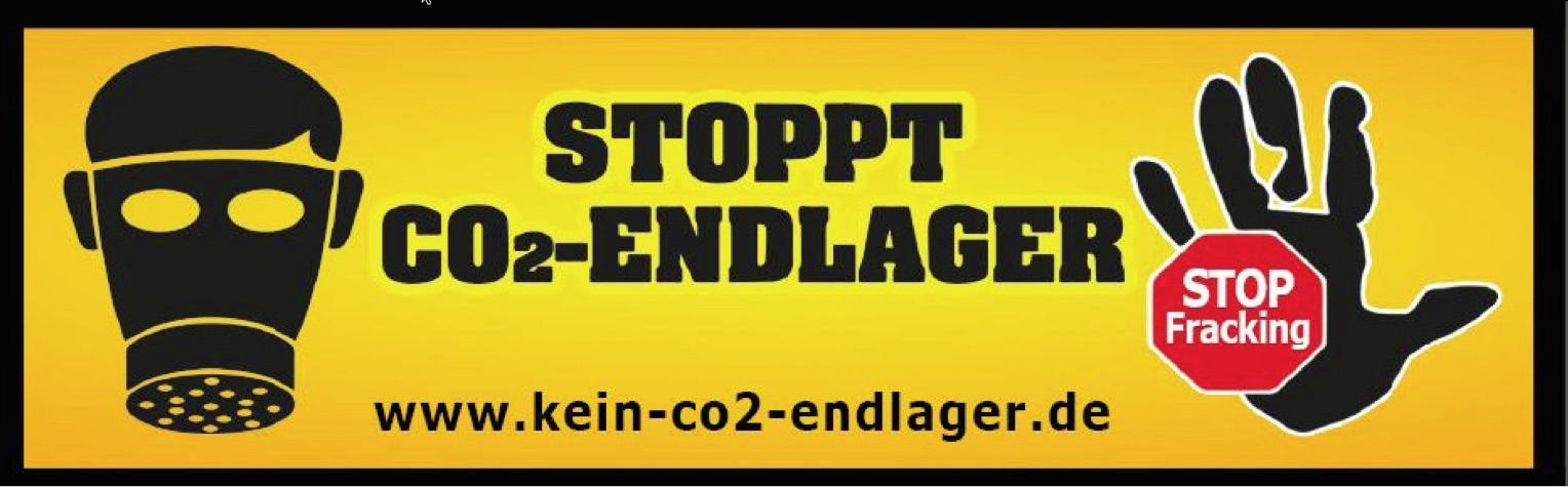 Stoppt CO2 Endlager