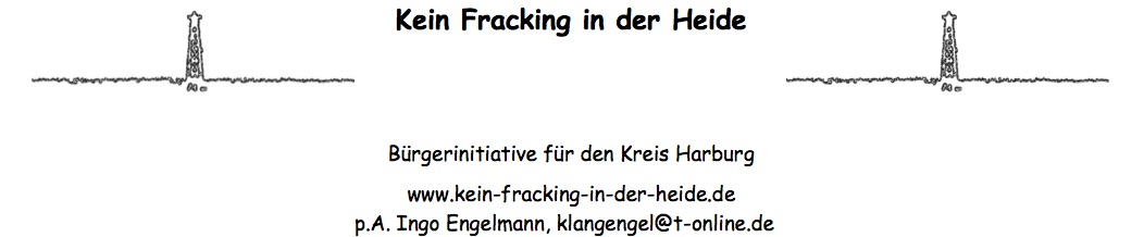 Logo Kein Fracking in der Heide